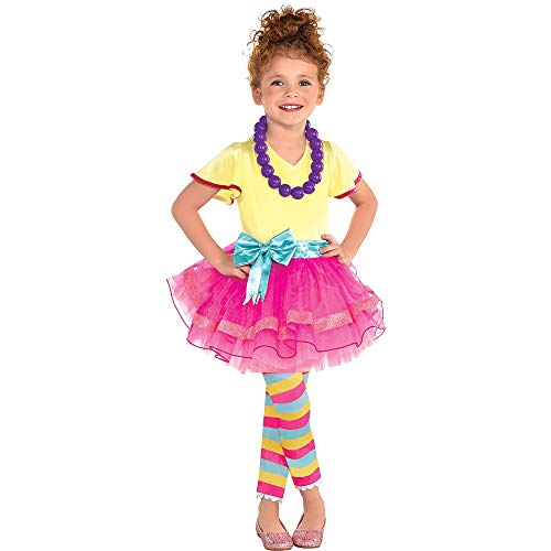 Fancy Nancy Halloween Costume for Toddler Girls, 3-4T, with Included Accessories, by Party City]()