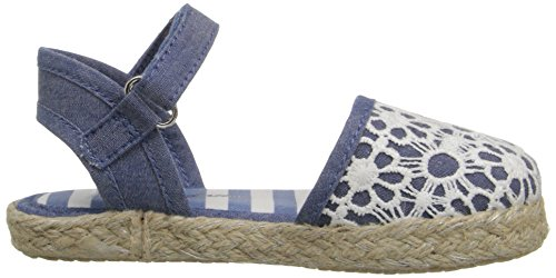 Hanna Andersson Paulina Girl's Espadrille(Toddler/Little Kid/Big Kid), Chambray, 8 M US Toddler by Hanna Andersson (Image #7)