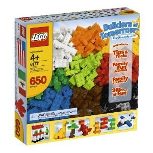 41CVCCTVFjL - LEGO Bricks & More Builders of Tomorrow Set 6177 (Discontinued by manufacturer)