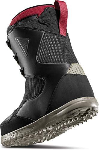 THIRTY TWO 32 Zephyr Jones Snowboard Boots Mens Sz 10 Black/Tan/Red