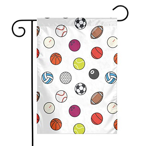 Angels Fly Mouth Soccer Football Tennis Golf Bowling Basketball Spring Family Unique Garden Flag Welcome America Courtyard Outdoor Decoration Logo Vertical ()