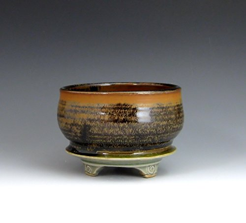 Thrown Stoneware Bowl (Matcha Tea Bowl, serving bowl, hand-thrown stoneware bowl (#11))