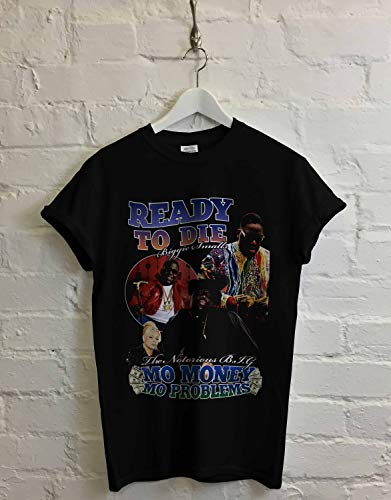 Notorious B.I.G T-Shirt Ready To Die Vintage Top High Quality Super Soft Unisex