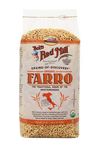 Bob's Red Mill Organic Farro Grain, 24-ounce (Pack of 4) (Stuffing Recipe Using Stove Top Stuffing Mix)