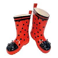 Ladybug Boots Size: 8 (3 Years Old)