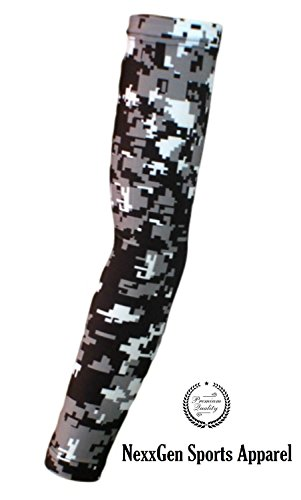 Nexxgen-Sports-Apparel-Compression-Arm-Sleeve-Single-40-Styles-and-Colors-Men-Women-Youth-Basketball-Shooter-Football-Baseball-Cycling-Volleyball-Lymphedema-Tattoo