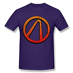 Men's Borderlands 2 Logo O-neck Tee Size XS Purple