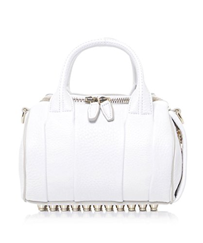 Alexander Wang Rockie Leather Bag White