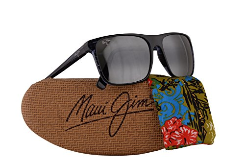 Maui Jim Flat Island Sunglasses Blue Stripe w/Polarized Neutral Grey Lens MJ705-03s by Maui Jim