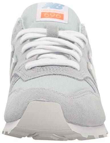 Nieuw Evenwicht Vrouwen 696 Lifestyle Fashion Sneaker Licht Porselein Blauw / Wit