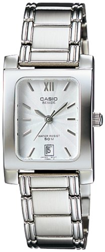 Casio Womens BEL100D 7AV Silver Stainless Steel