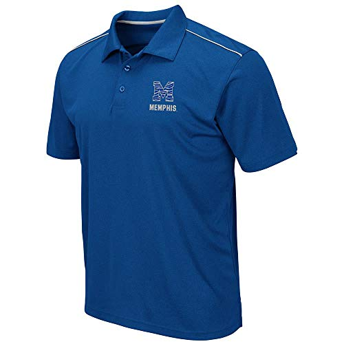 Mens Memphis Tigers Eagle Short Sleeve Polo Shirt - L