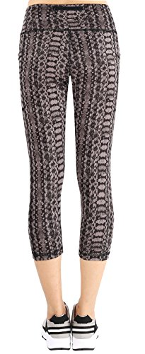 Neonysweets Mujer Pantalones Elásticos de Yoga Mujer Pantalones Deportivos Elásticos y Cómodos Mujer Polainas marrón oscuro