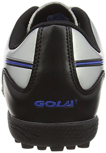 Gola Ativo 5 Ion Vx Mens Astro Turf Tacchette Da Calcio Argento