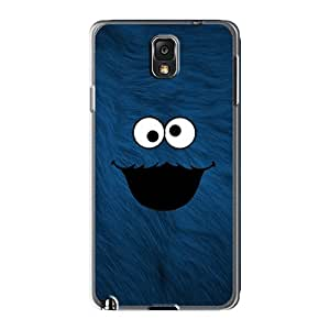 Samsung Galaxy Note 3 URG24772lsAF Allow Personal Design Realistic Cookie Monster Series Scratch Protection Hard Cell-phone Case -ErleneRobinson
