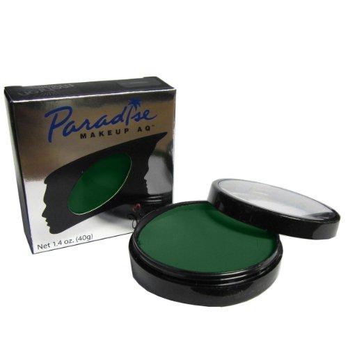 Mehron makeup paradise aq face body paint light blue Light pastel green paint