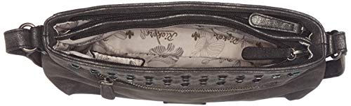 Women's Silver H1300 antik Schwarz Rieker Bag Shoulder IwdI0g