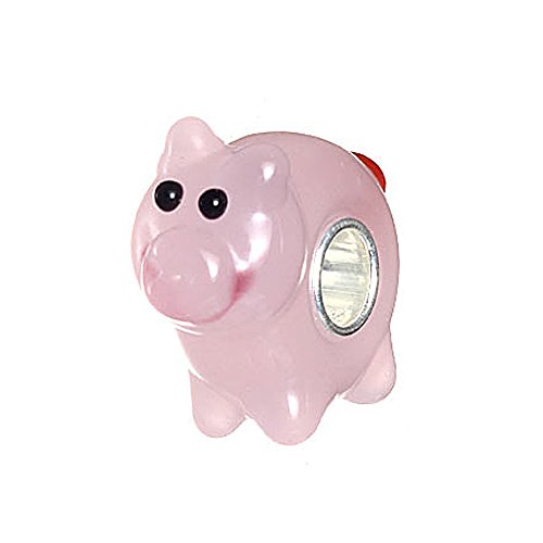 Lovely Pink Pig Murano Glass 3d Bead with 925 Sterling Silver Core Fits European (Lovely Murano Glass Beads)