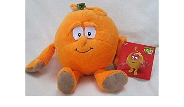Amazon.com: VITAMINI ARANCIA PELUCHE SUPERFRESCHI - Plush Orange Arancio Goodness Gang /item# G4W8B-48Q50703: Toys & Games