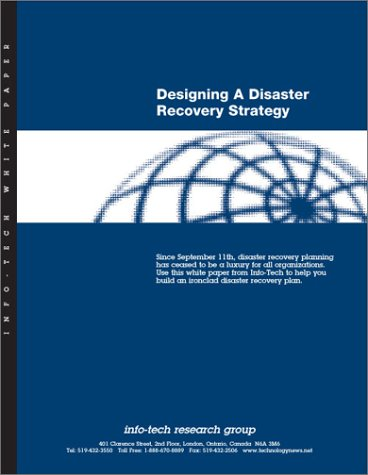 Designing a Disaster Recovery Strategy