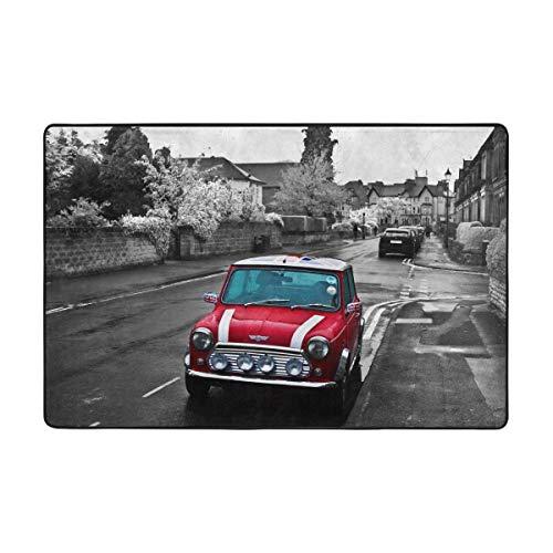 (Mostico Nachill Red Car Mini Cooper Symbol England Flag City 36