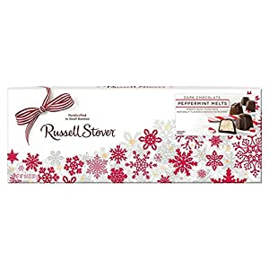 Russell Stover's Dark Chocolate Peppermint Melts, 10.6 oz. Box