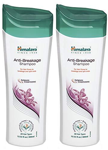 Himalaya Anti- Breakage Shampoo, Repairs Damaged, Brittle Hair and Split-ends, 13.53 oz/400 ml (Pack of 2)