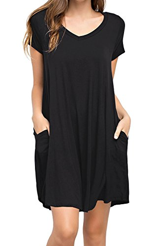 Used, KEEDONE Women's Swing Dress Casual Loose Tunic Dress for sale  Delivered anywhere in USA