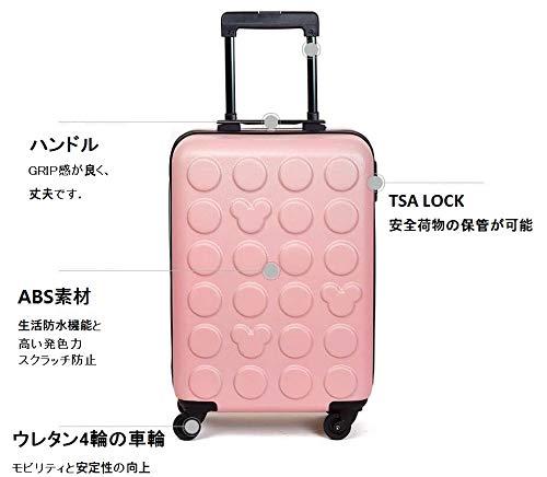 35bbff5a1b Amazon   H-OUTDOOR スーツケース 機内 スーツケース キャリーケース TSAロック SUITCASE 旅行 出張 20  INCH(海外直送品) (Yellow)   H-OUTDOOR   スーツケース