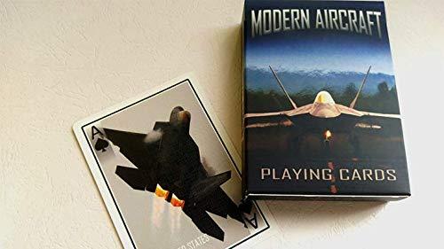 Modern Aircraft Playing Cards