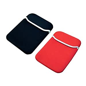 Skque Black/Red Reversible Sleeve for Apple Iphone 3G Series