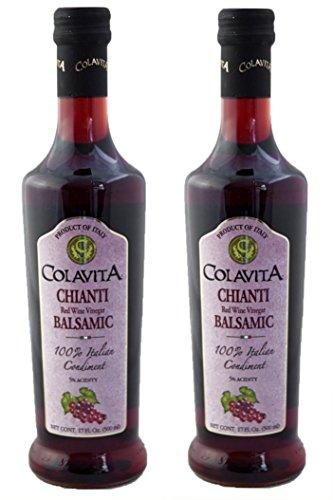 Colavita Chianti Balsamic Red Wine Vinegar, Special 34 Ounce