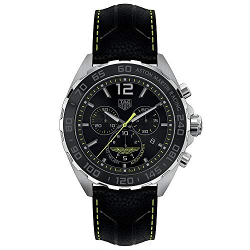 TAG Heuer orologio Formula 1 Aston Martin 43mm quarzo Acciaio CAZ101P.FC8245