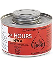 "LeoLight ""Vesta Heat"" 6 Hour Screw Top Wick Chafing Fuel, 24/case"