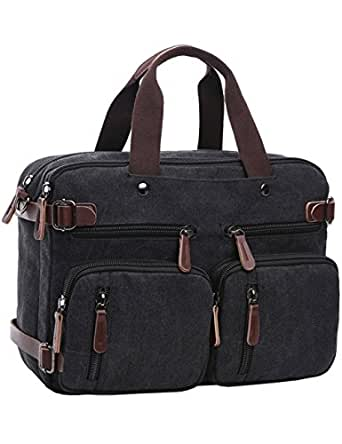 Amazon.com: Mygreen Convertible Laptop Messenger Bag