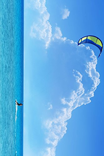 Kite Surfing in Hawaii: Blank 150 page lined journal for your thoughts, ideas, and inspiration