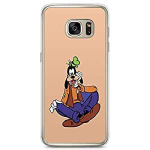 Loud Universe Goofie Goofy Cartoon Samsung S7 Case Classic Old Cartoon Samsung S7 Cover with Transparent Edges