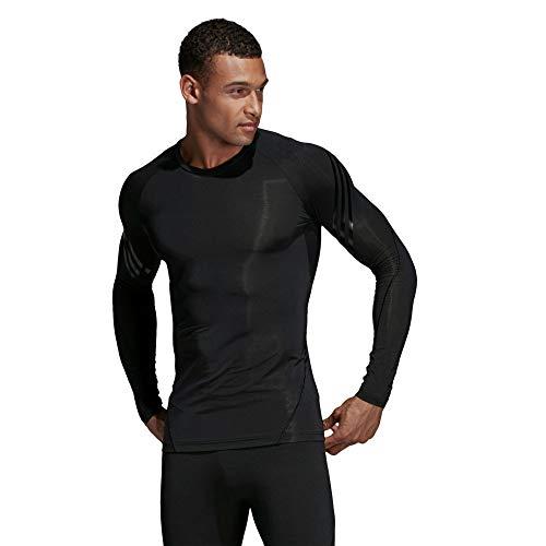 manga para 3s larga Ls Camiseta Tec T hombre de negro Adidas Ask wqxzR7FW00