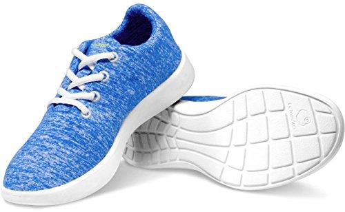 Mouton Le Wool Merino Royal by Lightweight Blue Unisex Shoes Hdrdgwq