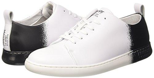 Unisex Collo – Basso Adulto Bianco whisper White Pantone black Nyc Sneaker A w1t4X4q
