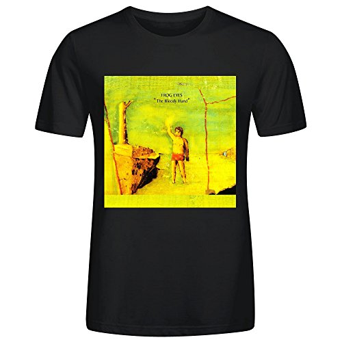 Frog Eyes The Bloody Hand Cool Mens T-Shirt Black (Bloody Bolt Kit)