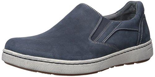 Dansko Mens Viktor Fashion Sneaker Blu Marino Nabuk