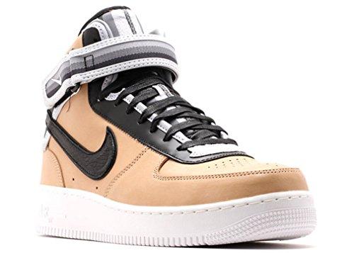 Riccardo Tisci x Nike Air Force 1 Mid SP Tisco RT Givenchy Vachetta Tan Shoes 677130-200 Men Sneakers