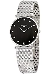 Longines La Grande Classique Black Dial Stainless Steel Mens Watch L47554586