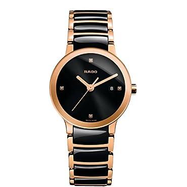 Rado Women's R30555712 Centrix Analog Display Swiss Quartz Two Tone Watch