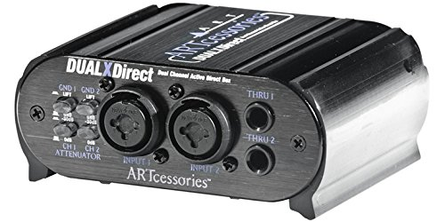 Art Dualxdirect Dual Professional Active Direct Box by ART