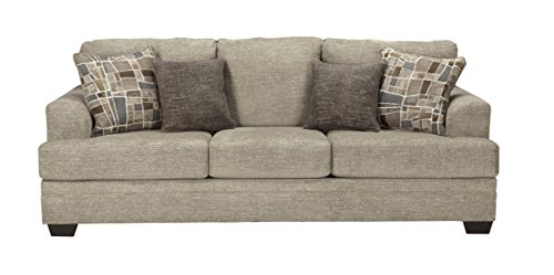 Amazon Com Benchcraft Barrish Traditional Upholstered