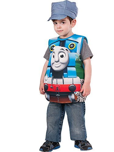 Rubies Thomas and Friends, Thomas The Tank Engine Costume, Toddler Blue]()