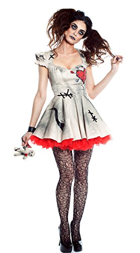 Seeing Red Adult Voodoo Magic Sexy Costume