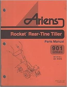 1997 ARIENS 901 ROCKET REAR TINE TILLER PARTS MANUAL 428